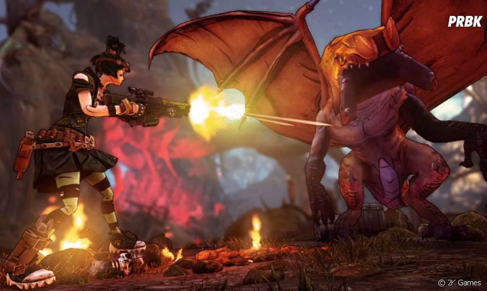 Le nouveau DLC de Borderlands 2 met en scène un dragon géant