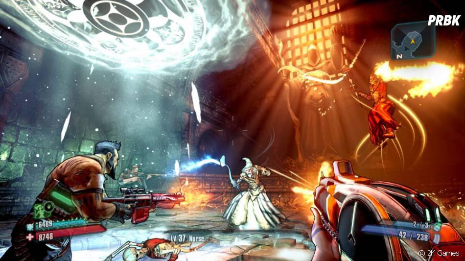 Le DLC Tiny Tina's Assault on Dragon Keep de Borderlands 2 encore plus beau