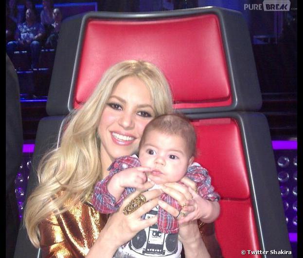 Shakira veut allaiter son fils Milan jusqu'à ce qu'il aille à l'université