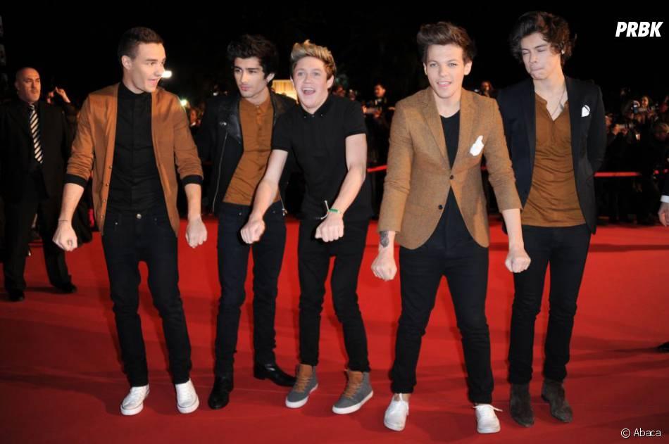 One Direction ne s'habille pas tous les jours comme sur les tapis-rouges