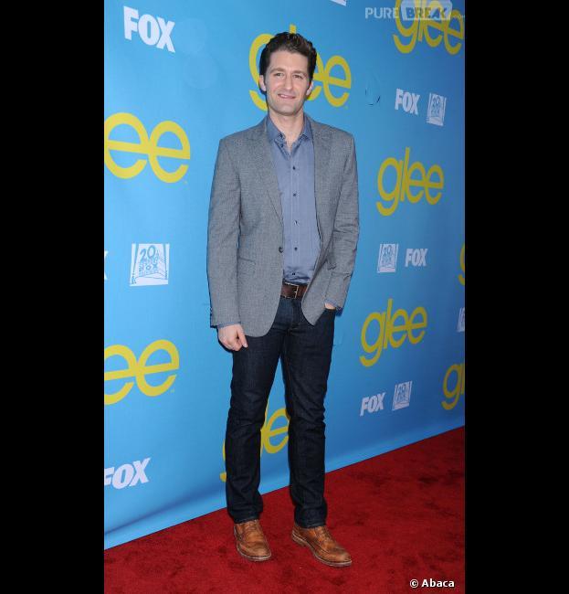 Matthew Morrison de Glee pas au courant du problème de Cory Monteith