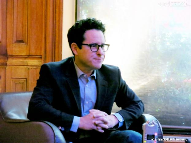 J.J. Abrams, vendredi 26 avril à Paris, pour la promo de Star Trek Into Darkness