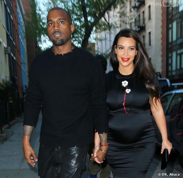 Kim Kardashian a donné naissance à une petite fille avec cinq semaines d'avance.