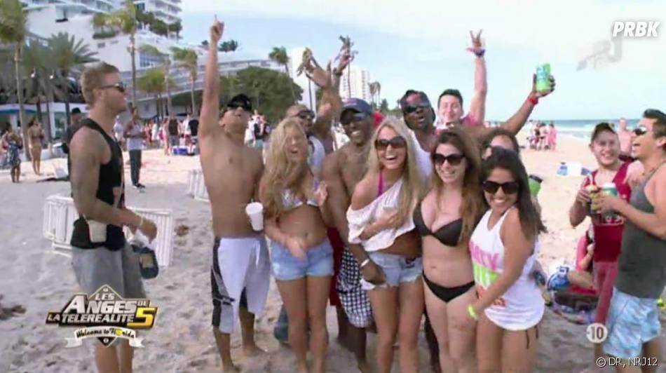 Les Anges 5 : C'est la fête à Miami pour Benjamin et Marc.