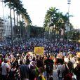 Un manifestant à trouvé la mort près de Sao Paulo jeudi
