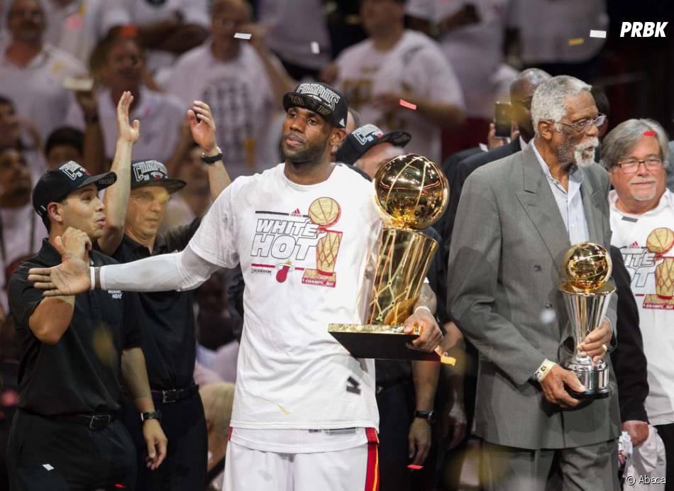 LeBron James de Miami Heat, MVP des finals NBA