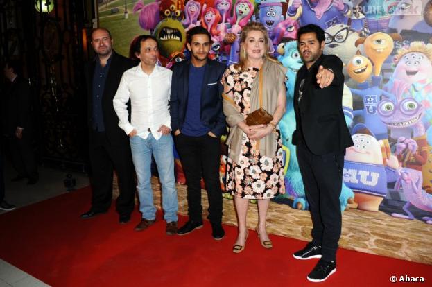 Monstres Academy : un casting plein d'étoiles avec Jamel, Catherine Deneuve