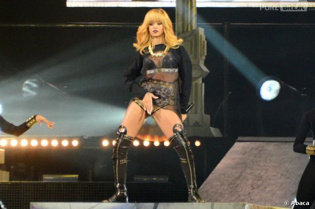 Rihanna, ici à Paris en juin 2013, n'est pas la star la plus ponctuelle