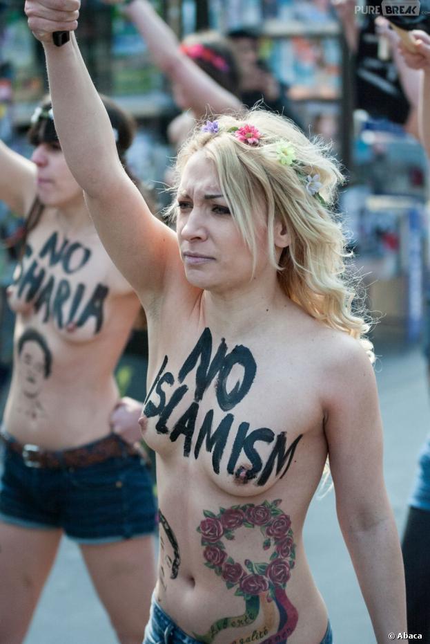 Inna Shevchenko, chef de file des Femen vient d'obtenir l'asile politique en France