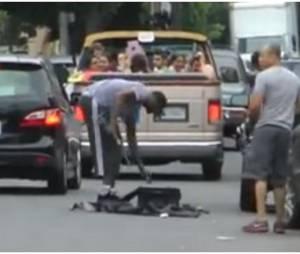 Lamar Odom perd ses nerfs à L.A, le 10 juillet 2013