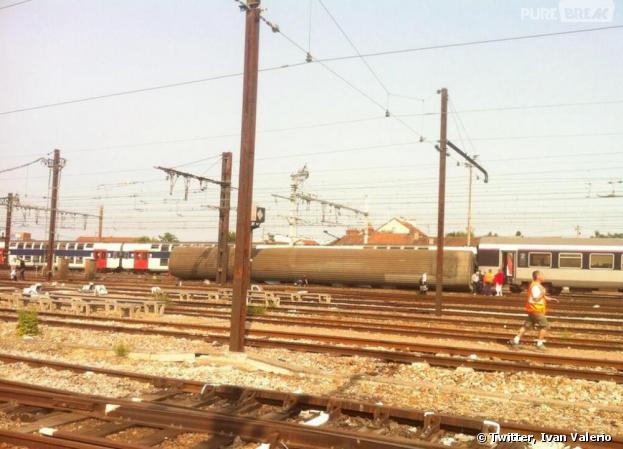 Un train Corail Intercités a déraillé en gare de Brétigny-sur-Orge