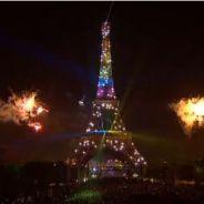 Feu d'artifice du 14 juillet 2013 à Paris : clin d'oeil au mariage pour tous ?