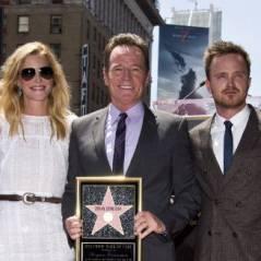 Bryan Cranston : la star de Breaking Bad a reçu son étoile sur le Walk of Fame