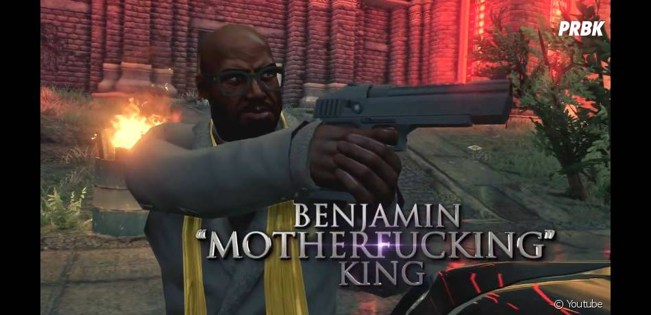Saints Row 4 mettra en scène Benjamin King