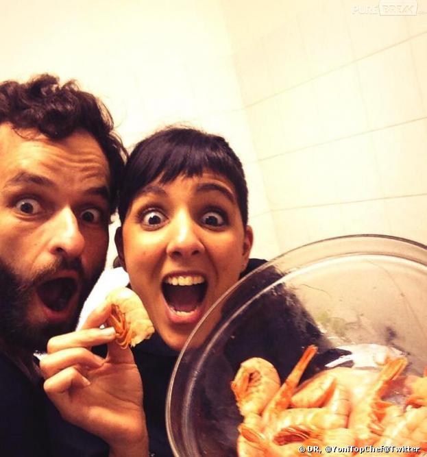 Vol de têtes en crevettes : Yoni et Naoëlle en remettent une couche.