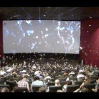 Insaisissables : pluie de billets magique lors de l'avant-première belge !