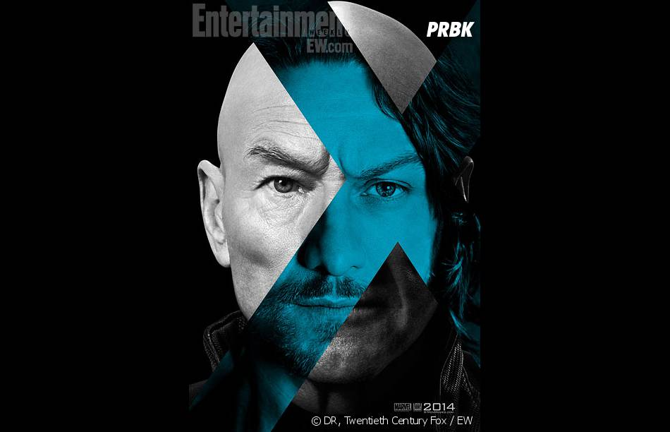 X-Men Days of Future Past : James McAvoy et Patrick Stewart