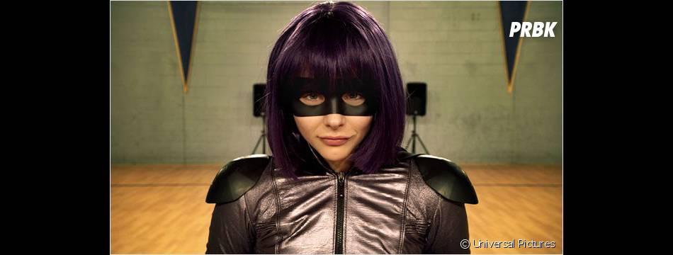 Chloë Moretz interprète Hit Girl dans Kick Ass 2