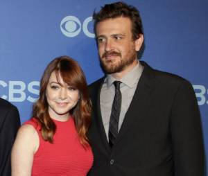 Jason Segel et le cast d'How I Met Your Mother, le 15 mai 2013 à NYC
