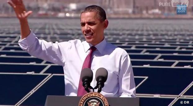 Barack Obama se mouille pour Apple