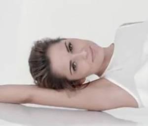Cheryl Cole sans maquillage pour L'oréal Paris.