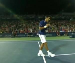 Novak Djokovic danse sur Get Lucky des Daft Punk