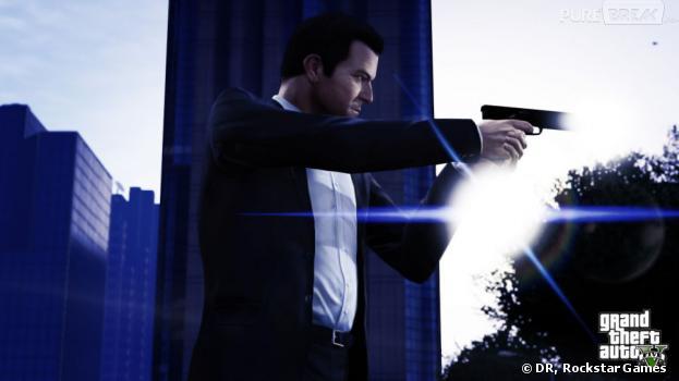 GTA 5 : Michael, l'un des protagonistes du titre