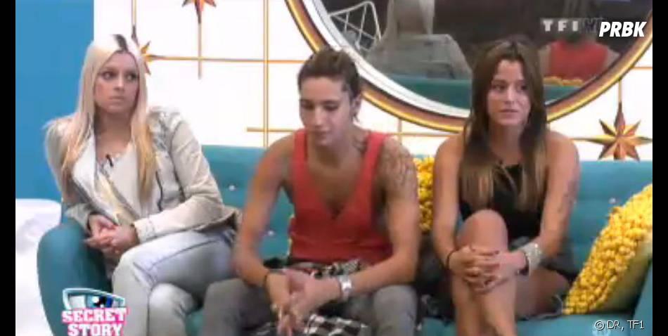 Secret Story 7 : Gautier a mis une douille à Alexia et Eddy.