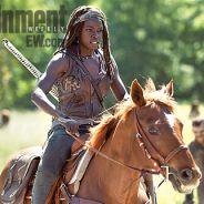 The Walking Dead saison 4 : Michonne, une badass à cheval cette année (SPOILER)