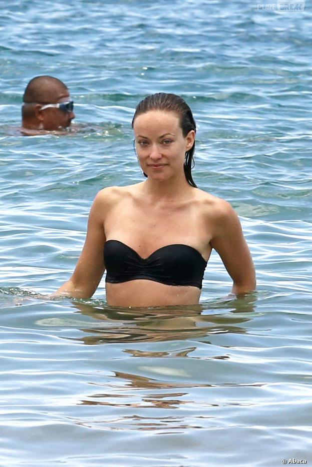 Olivia Wilde en vacances à Hawaii en mai 2013