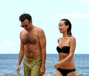 Jason Sudeikis et Olivia Wilde en vacances à Hawaii en mai 2013