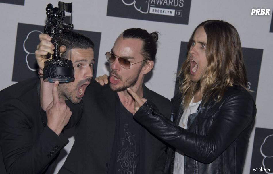 30 Seconds to Mars remporte le prix de meilleur clip rock aux MTV VMA 2013 le 25 août 2013