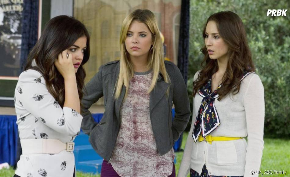 Pretty Little Liars saison 4, épisode 12 : Lucy Hale, Ashley Benson et Troian Bellisario