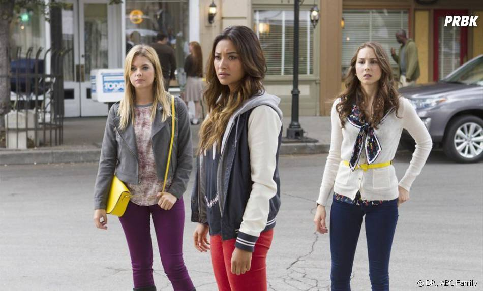 Pretty Little Liars saison 4, épisode 12 : Ashley Benson, Shay Mitchell et Troian Bellisario