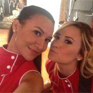 Demi Lovato : première photo de tournage pour Glee