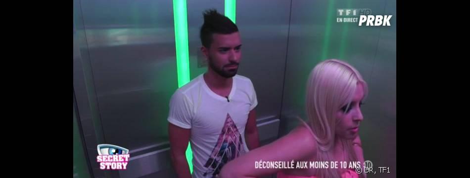 Secret Story 7 : Alexia et Vincent convoqués dans le couloir numérique.