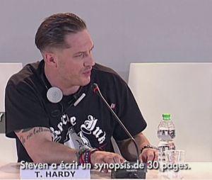 Tom Hardy au Festival International du Film de Venise le 2 septembre 2013