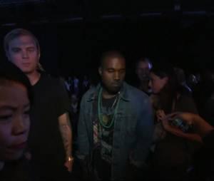 Kanye West, Solange Knowles, Zoe Kravitz... au défilé Alexander Wang Printemps-Eté 2014 à la Fashion Week de New-York, le 7 septembre 2013
