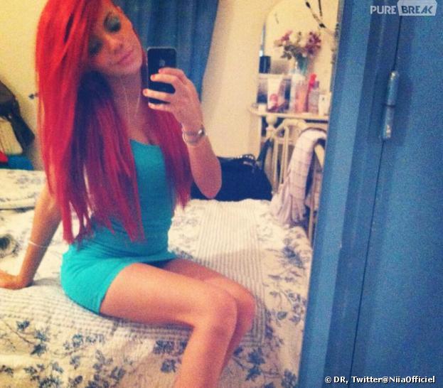 Niia Hall et sa nouvelle couleur de cheveux sur Twitter.