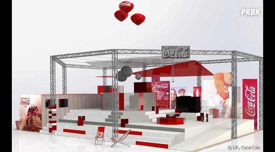 Autre forme de campagne originale : des vidéomathons Coca étaient installés aux Solidays, aux Eurockéennes et au festival Main Square d'Arras