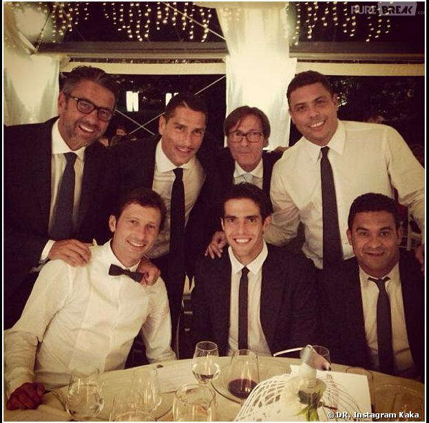 Leonardo : Ronaldo, Kaka... invités de luxe pour son mariage, le 7 septembre 2013 en Italie