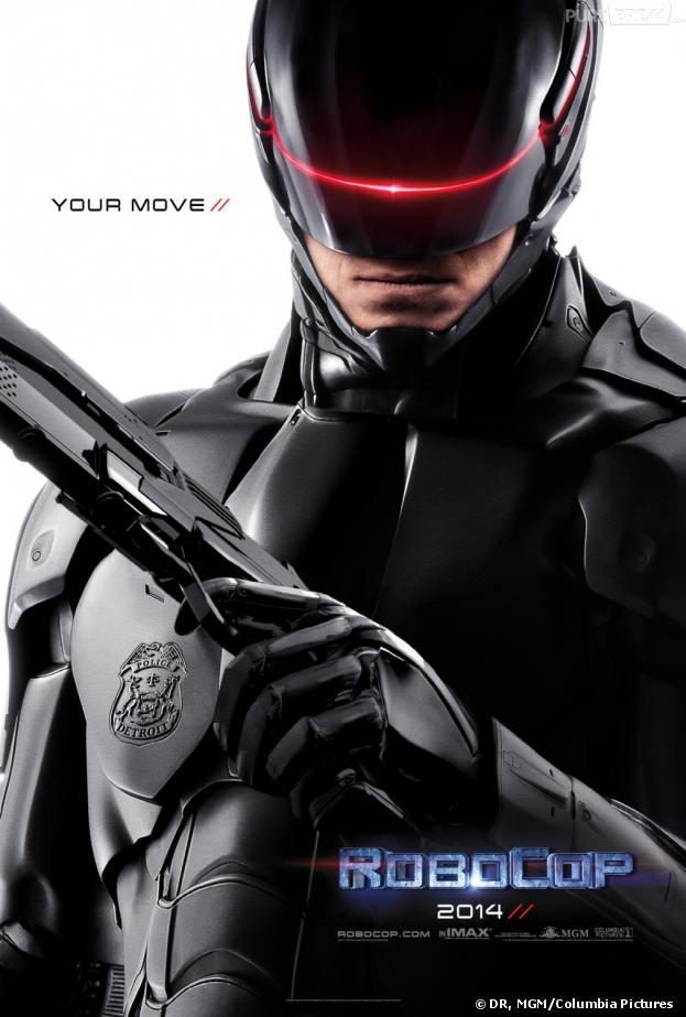 Robocop : affiche dark pour le remake
