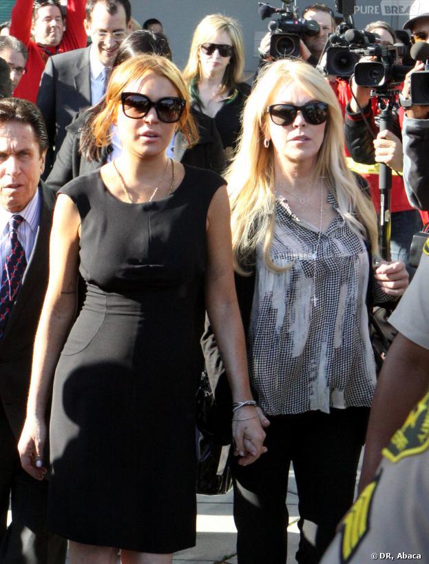 Lindsay Lohan : sa maman Dina Lohan arrêtée pour conduite en état d'ivresse à New York.