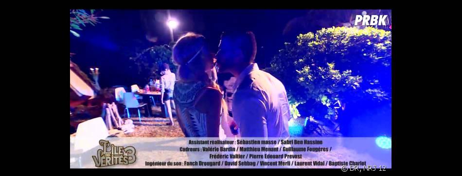 L'île des vérités 3 : Beverly et Ju s'embrassent