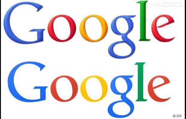 google l 39 ancien logo en haut le nouveau en bas. Black Bedroom Furniture Sets. Home Design Ideas