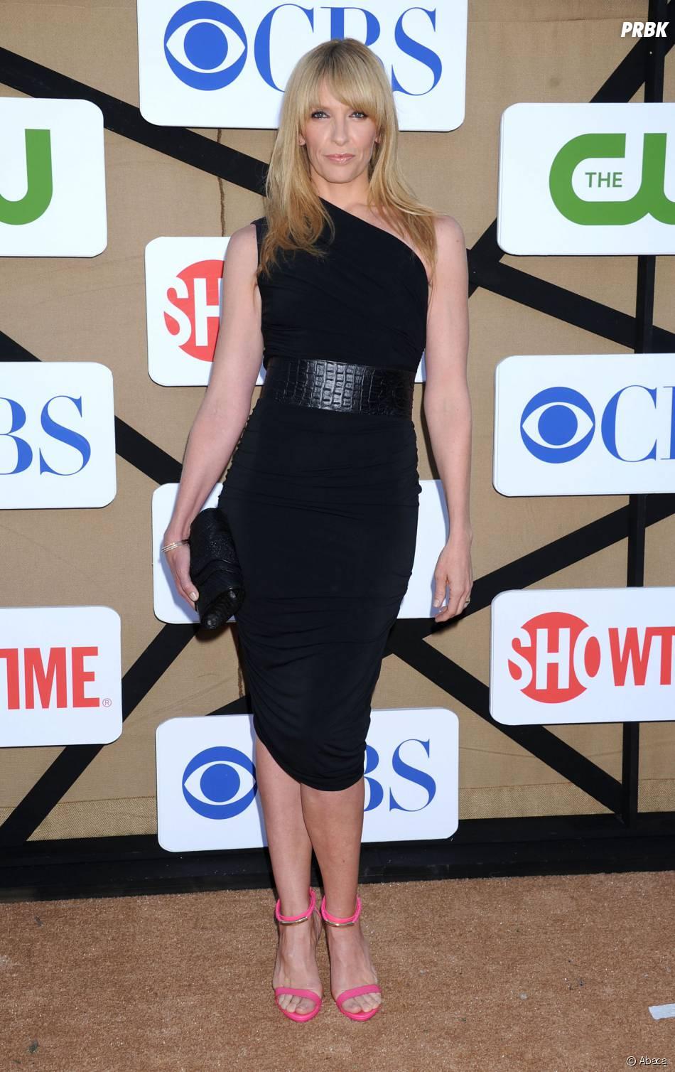 Toni Collette à un évenement pour CBS