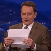 Breaking Bad : Bryan Cranston lit une étrange lettre érotique d'un fan