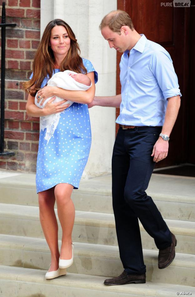 Kate Middleton : la date du baptême de George dévoilée