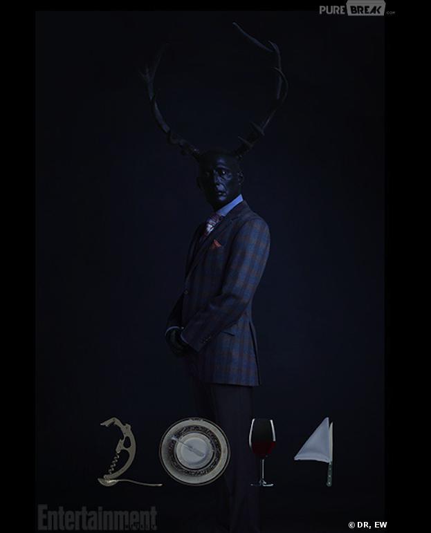 Hannibal saison 2 : première affiche avec Madds Mikkelsen