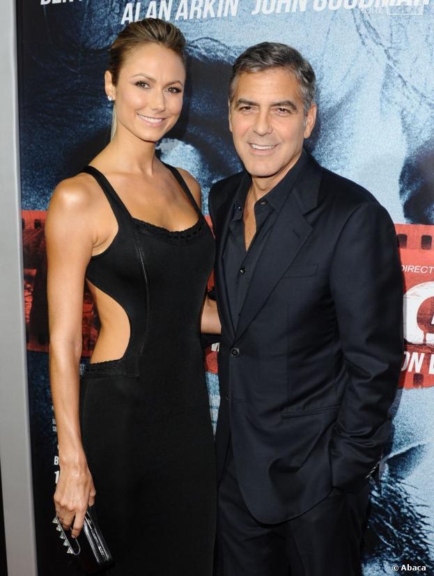 George Clooney et Stacy Keibler sont séparés depuis juillet 2013
